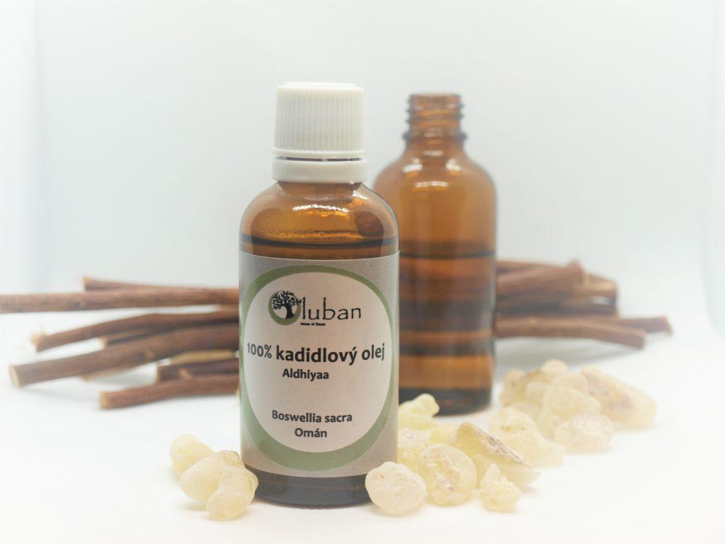 Jemný kadidlový olej
