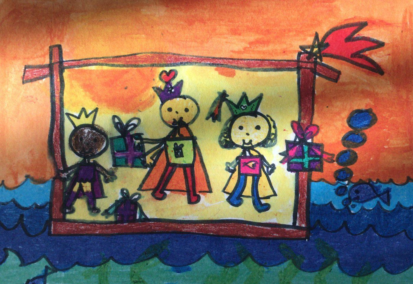 Tři králové  a jejich dary – zlato, myrha a kadidlo
