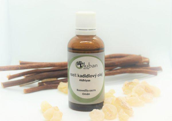 Jemný olej z kadidla