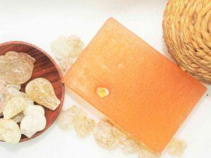 Mýdlo s olejem z kadidla