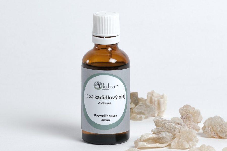 LUBAN 100% kadidlový olej Aldhiyaa 50ml