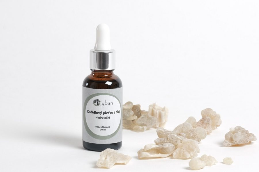 LUBAN kadidlový pleťový olej – hydratační 30ml
