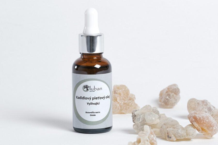 LUBAN kadidlový pleťový olej – vyživující 30ml